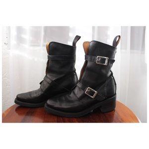 Vintage Harley-Davidson Buckle Boots (5)